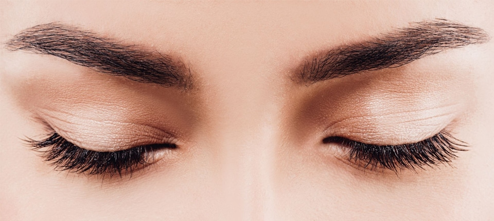 What technique should I use for my brows?